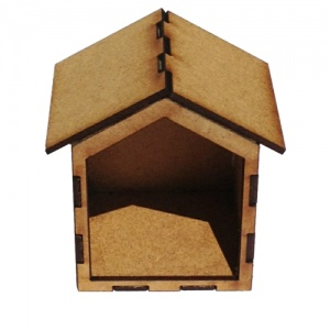 Framed Style MDF House Kit - Cube