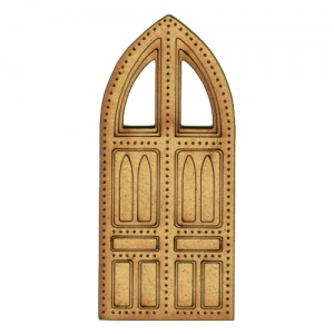 Castle Door - MDF Wood Shape