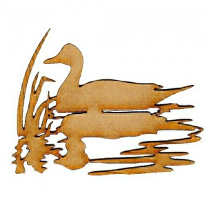Pintail Duck MDF Wood Bird Shape