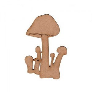 Mushrooms - Fungi MDF Wood Shape - Style 11
