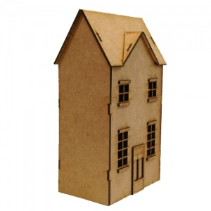 Georgian Style Townhouse - MDF House Kit
