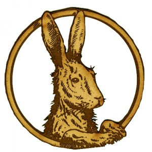 Hare Motif - MDF Wood Shape