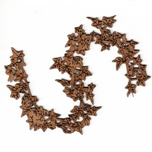 Ivy Leaf Garland MDF Wood Shape - Style 3