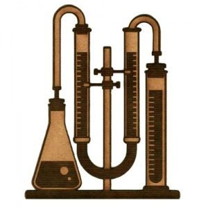 Chemistry Laboratory Apparatus  - MDF Wood Shape 06