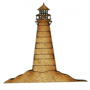 Lighthouse MDF Wood Shape Style 5