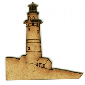 Lighthouse MDF Wood Shape Style 8