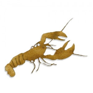 Lobster MDF Wood Shape Style 5