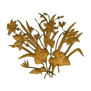 Narcissus Flowers MDF Wood Shape