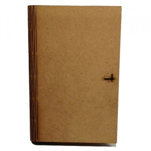 MDF Journal Book Box Kit - Asst Compartments