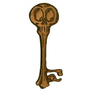 Skeleton Key MDF Wood Shape