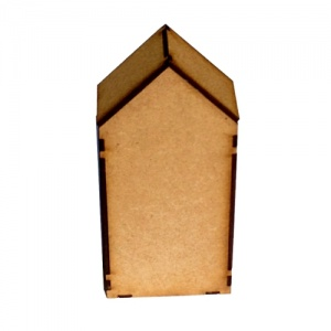 Block Style MDF House Kit - Tall