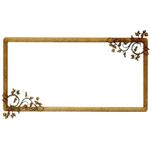 MDF Printer's Tray Frame - Rose Bramble