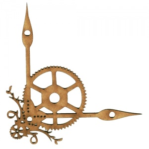 Steampunk Clock Hands - MDF Wood Corner