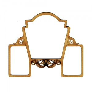 Art Deco Multi Frame - Ritzy