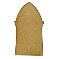 Arch with Shaped Profile - MDF Mixed Media Board