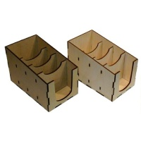 Birch Ply & MDF ATC/Tag Storage Boxes