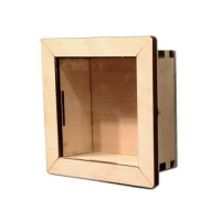 Birch Plywood Box Frame Kits - Square