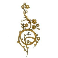Flowering Vine - Decorative Flourish Style 27