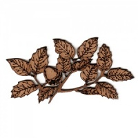 Oak Leaf Branch with Acorns MDF Wood Shape
