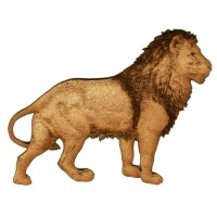 Lion - MDF Wood Shape