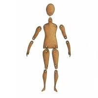 Standard Jointed Art Doll Kit - Style 1