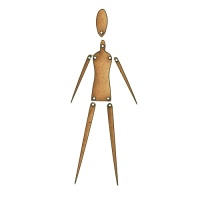 Prim Style Jointed Art Doll Kit