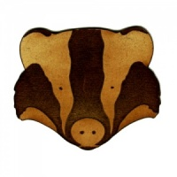 Badger MDF Wood Shape Style 3