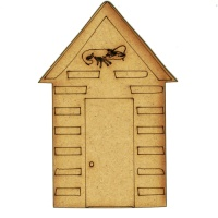 Shrimp Shack Beach Hut - MDF Wood Shape
