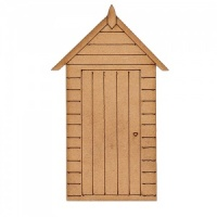 Beach Hut - MDF Wood Shape