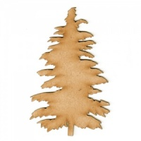 Cedar Tree MDF Wood Shape