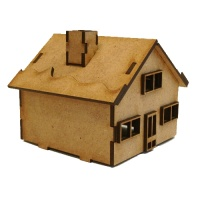 Chalet Cottage - MDF House Kit