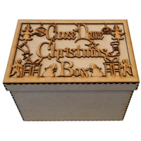 Personalised Christmas Box - MDF