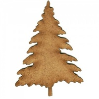 Christmas Tree MDF Wood Shape Style 5