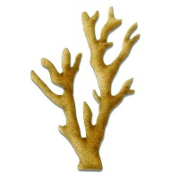 Coral - MDF Wood Shape Style 3