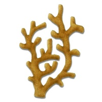 Coral - MDF Wood Shape Style 6