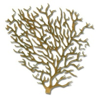 Coral - MDF Wood Shape Style 12