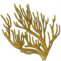 Coral - MDF Wood Shape Style 15