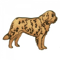 Saint Bernard MDF Wood Dog Shape Style 23