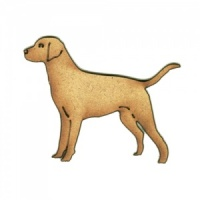 Labrador MDF Wood Dog Shape Style 38