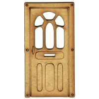 Door MDF Wood Shape - Style 13