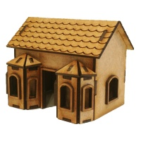 Double Bay Window - MDF House Kit