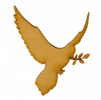 Dove of Peace MDF Wood Bird Shape