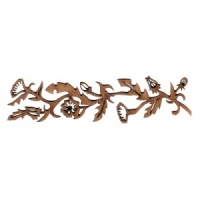 Flowering Vine MDF Wood Border Embellishment - Style 2
