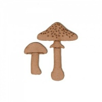 Mushrooms - Fungi MDF Wood Shape - Style 12