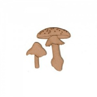 Mushrooms - Fungi MDF Wood Shape - Style 13