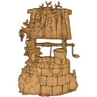 Wishing Well Scene - MDF Wood Shape