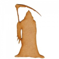 Grim Reaper Approaching MDF Wood Shape
