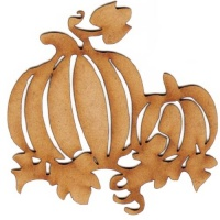 Pumpkin Patch MDF Wood Shape