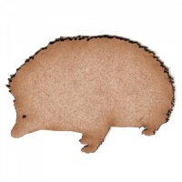 Hedgehog MDF Wood Shape Style 2