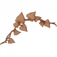 Ivy Leaf Corner Garland - MDF Wood Shape